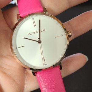 Michael Kors MK7126 Jayne Gold tone Pink Watch